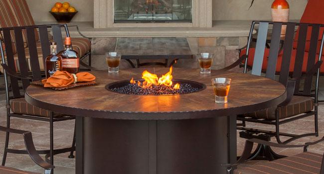 O.W. Lee fire pit - Fire Patios Plus Furniture