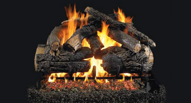 Peterson Gas Log - fire pit accessory