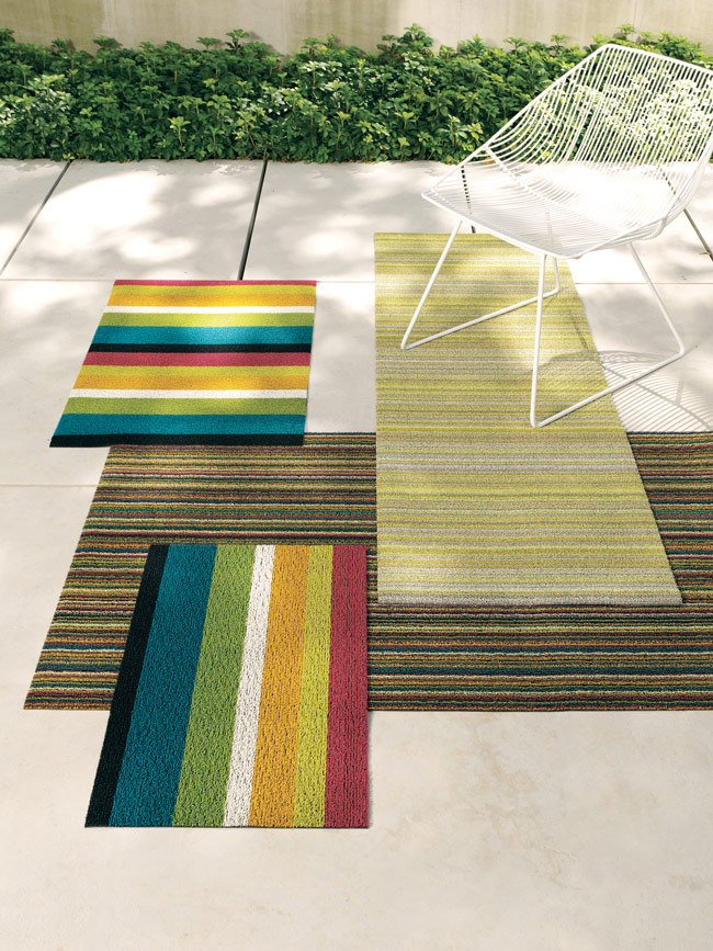 Floor Shag Mat in Brights