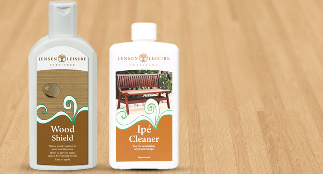 Jensen Wood Shield - outdoor furniture care