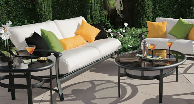 Tropitone casual outdoor furniture