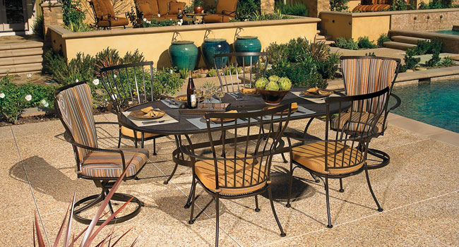 O.W. Lee outdoor furniture